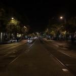 Budapest, Szent Istvan Krt by night