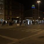Blaha Lujza ter - Budapest night scene