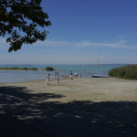 Lake Balaton, Hungary - Foreground & background.