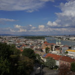 Budapest panorama from the Castle Distrct.