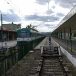 HEV in Szentendre, the suburban railway station.